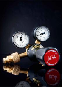 AGA product logo equipment