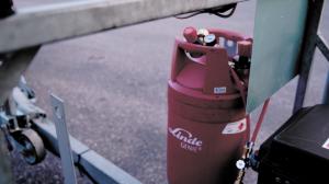 Linde cylinder